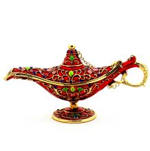 Aladdin Lamp Trinket Box
